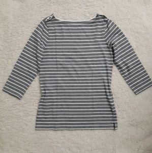 🔴 Croft & Barrow striped top